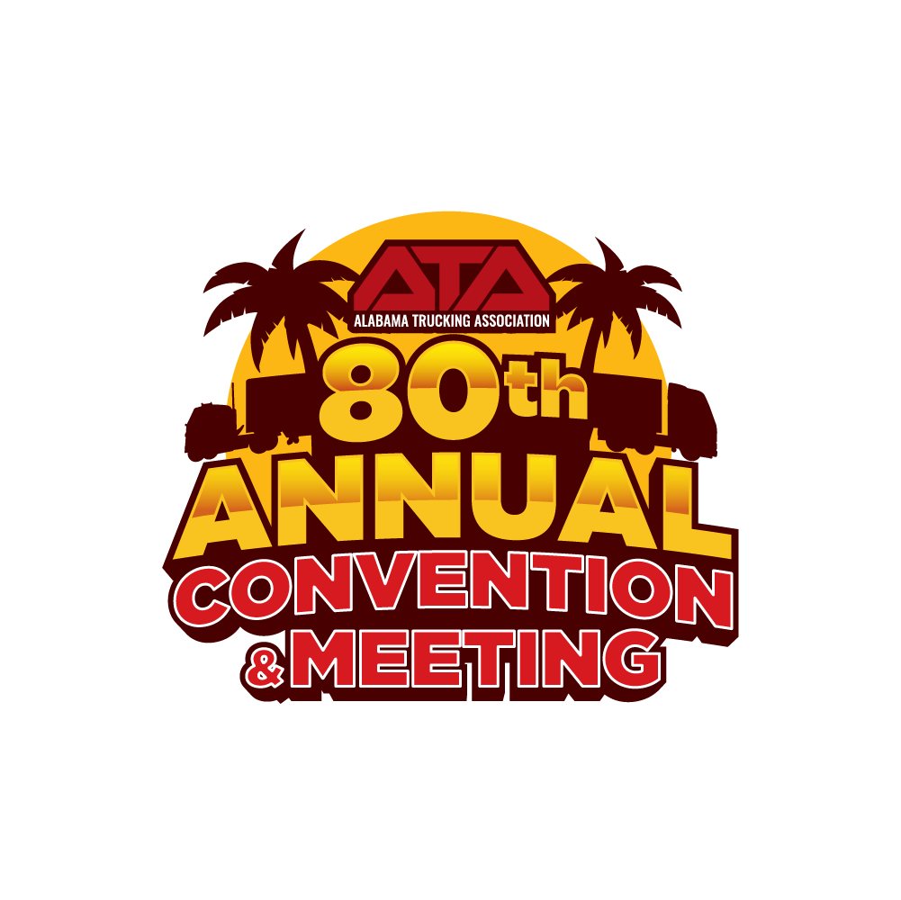Alabama Trucking Association's 80th Annual Convention and Meeting Logo