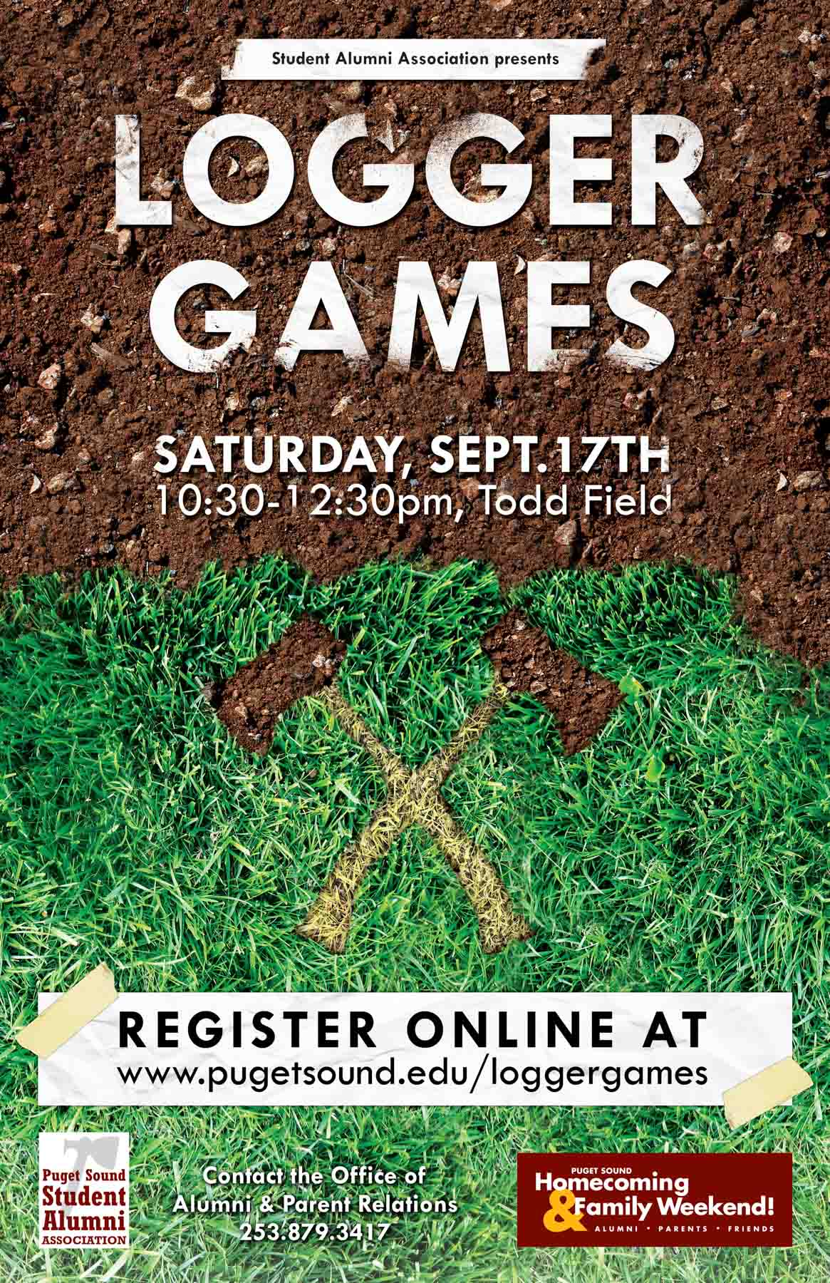 Logger Games Poster