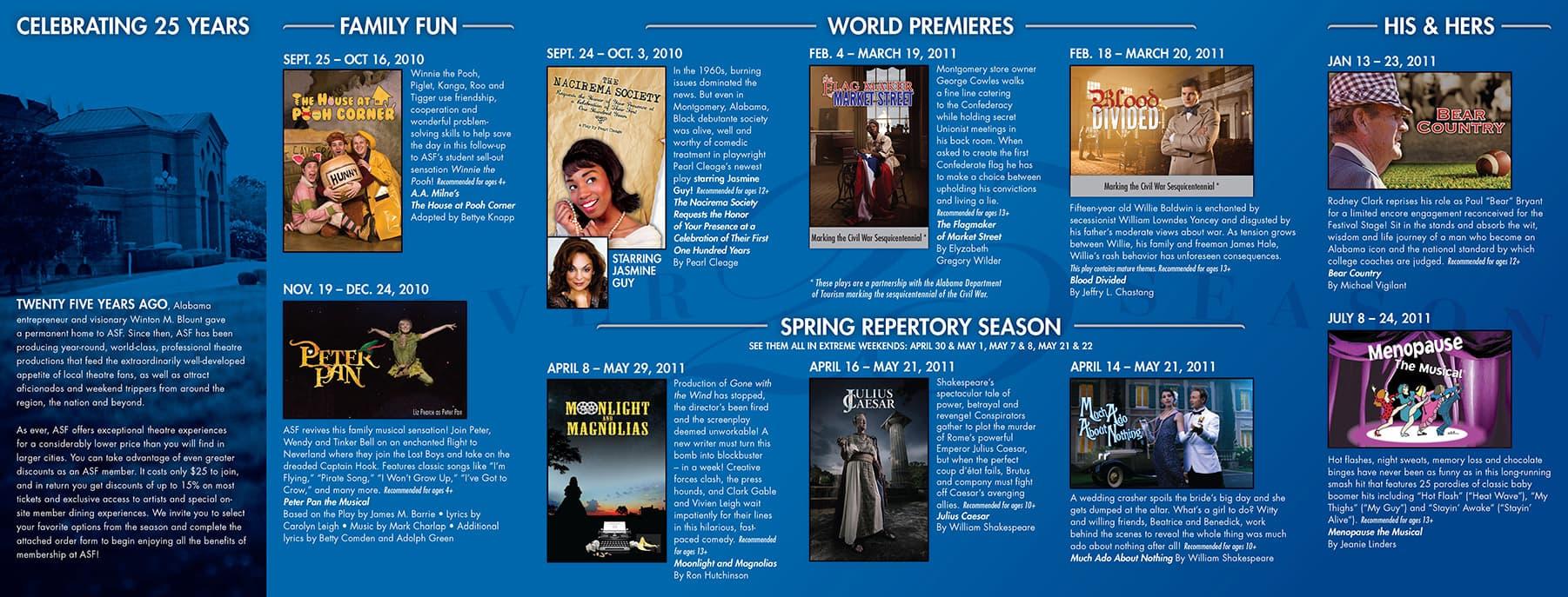 ASF Silver Season Brochure