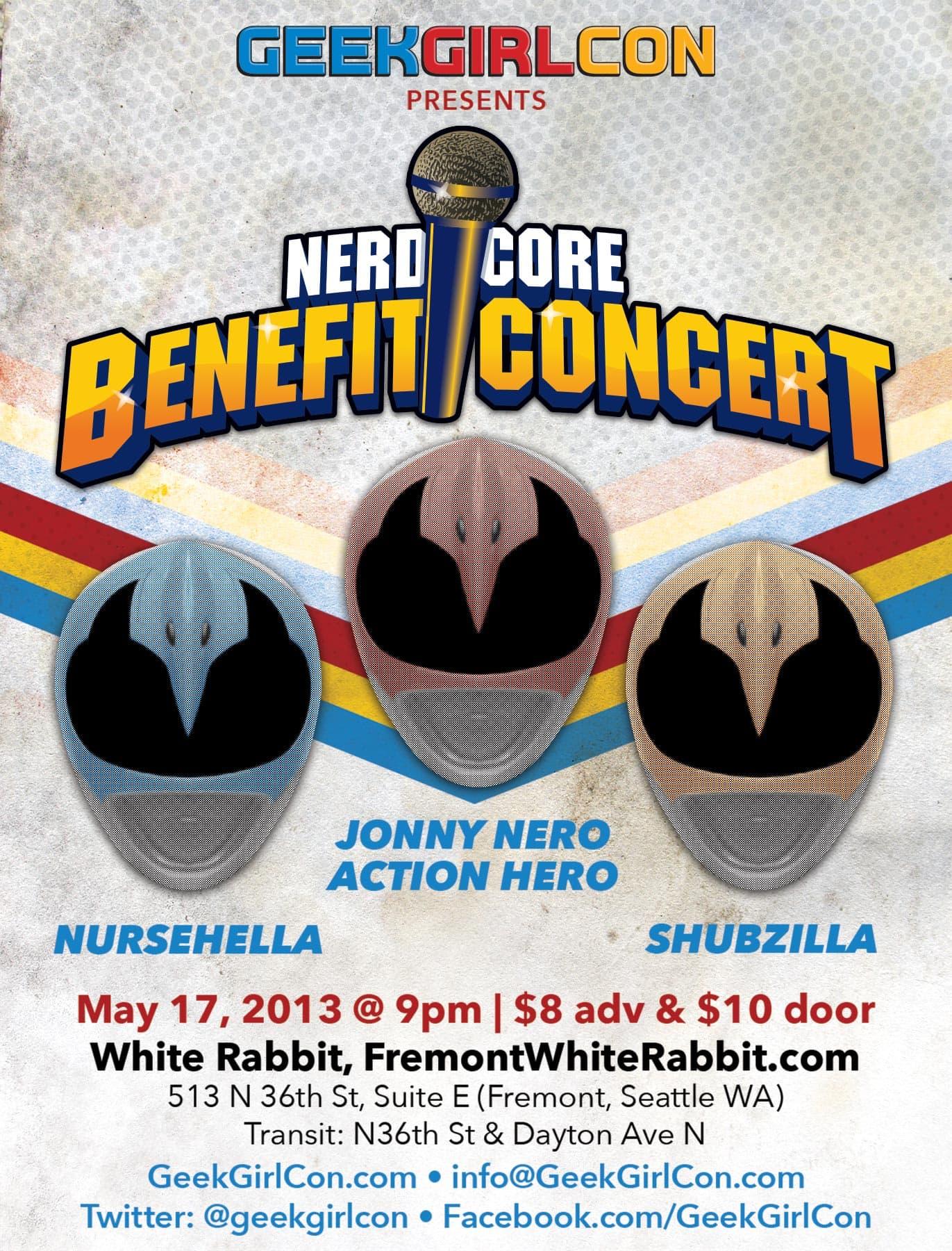 Benefit Concert Ad