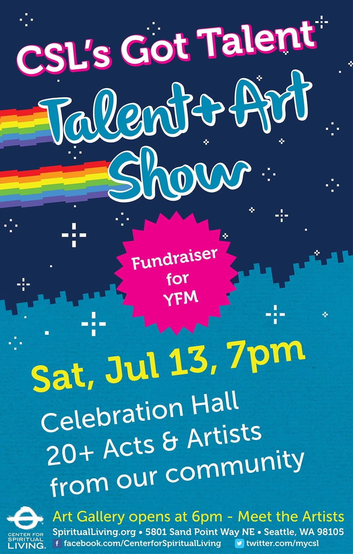 Talent and Art Show Poster